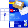 Avery Shipping Laser Labels L7165 99.1x67.7mm White 800 Labels, 100 Sheets