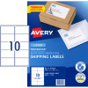 Avery Shipping Laser Labels L7173 99.1x57mm White 1000 Labels, 100 Sheets
